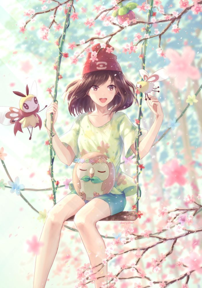 Sweet Scent & Sun and moon #pokemon #anime #fantasy... http://xn--80aapkabjcvfd4a0a.xn--p1acf/2017/01/14/sweet-scent-sun-and-moon-pokemon-anime-fantasy/ (Beauty Art Fantasy)