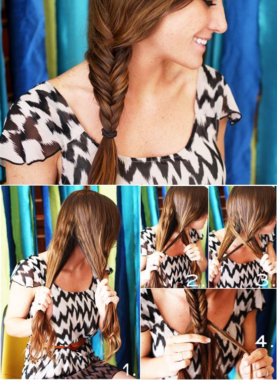 Brown Hair Extensions Can Make 5 Simple Hairstyles for Daily Life Braid Hairstyles