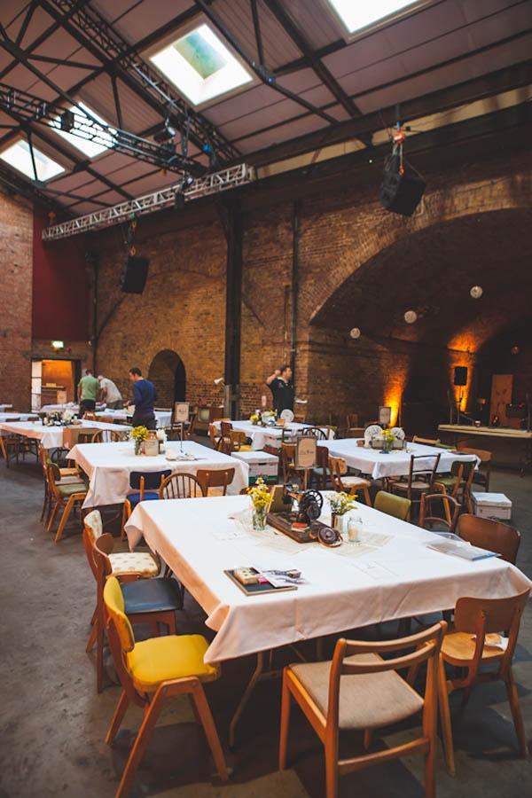An East London Wedding With Industrial Vibe Bianca Paul Venue Village Underground