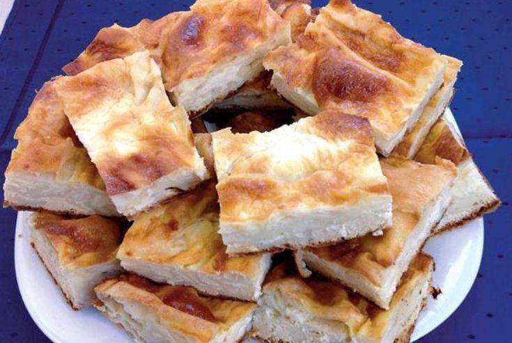 Plăcintă cu iaurt și brânză