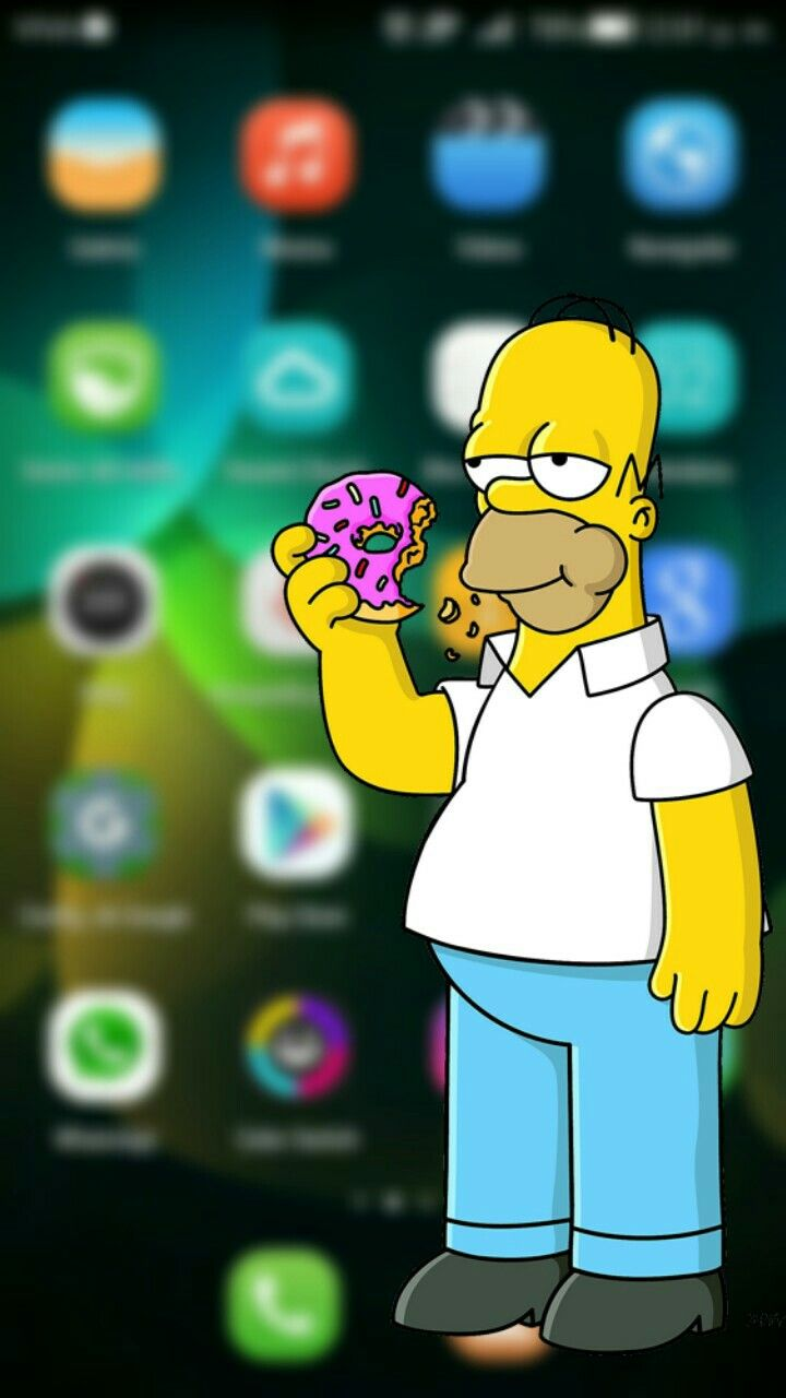 Homero simpson fondo para Huawei G play mini