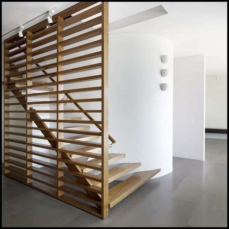 Best Interior Large Horizontal Railing Wooden Room Divider 640 x 480