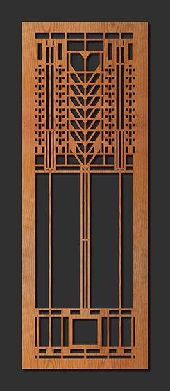 Laser Cut Wood Elements: Martin Tree of Life