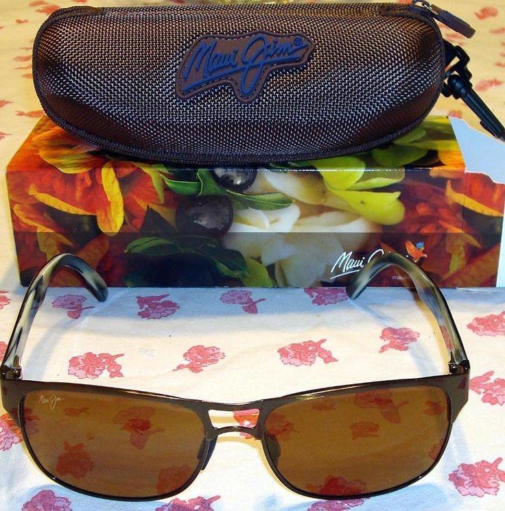Authentic maui jimhang 1029620a polarized sunglasses