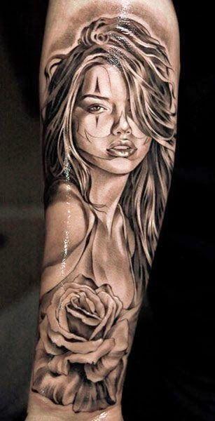 Belagoria: 70 Chicas en tatuajes originales