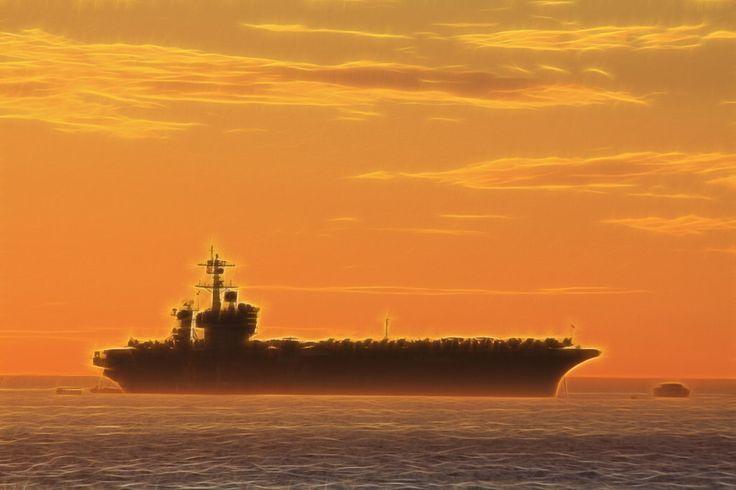 War on the horizon, USS Carl Vinson (CVN-70)