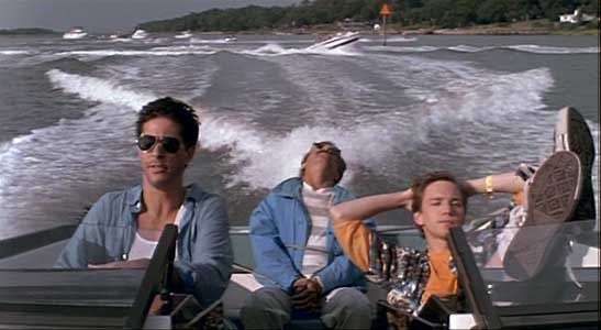 I love this scene, I think I peed myself the first time I saw it...weekend at bernies...lol