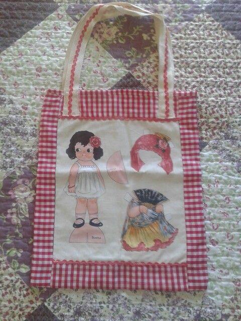 Bolsa muñeca recortable