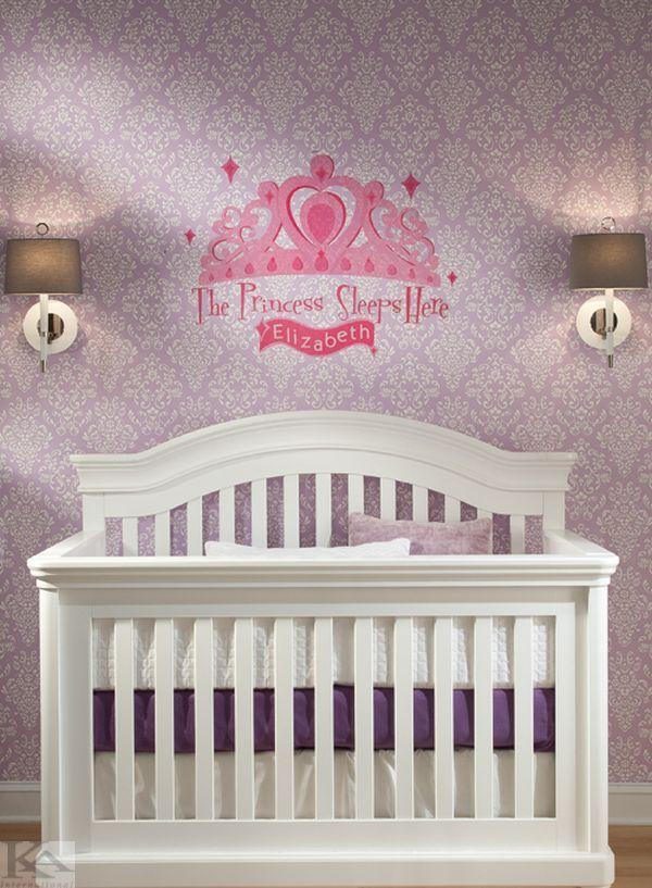 Baby room wallpaper / Tapet pentru bebelusi