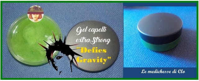 "Gel capelli extra strong ""Defies Gravity"""