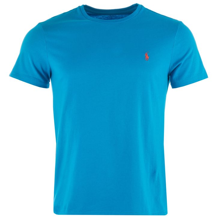 T-shirts &; Vests | Turquoise Mens Custom Fit T-Shirt | Get The label