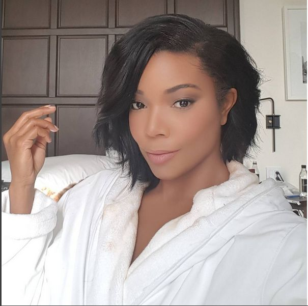 Gabrielle Union's layered bob!  This will be my next hair cut!!!
