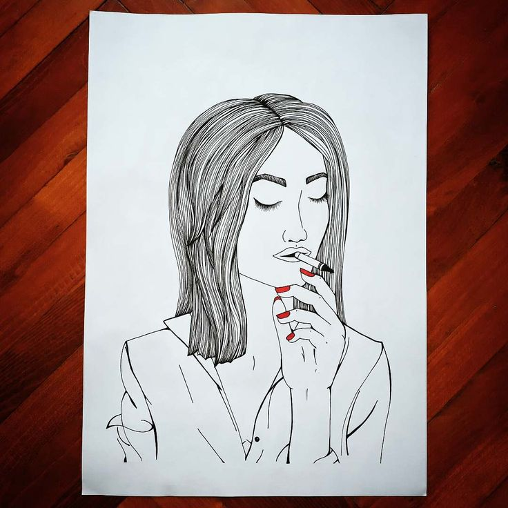 ✌ #magyar_rajzok #muveszet #rajz #rajzok  #draw #drawing #art #artoftheday #artofinstagram #artist #portrait #lineart #black #red #stabilo #staedtler #woman #smoking #sketchbook #modarnart #arte #done #hungary #young_artists_help #mystaedtler