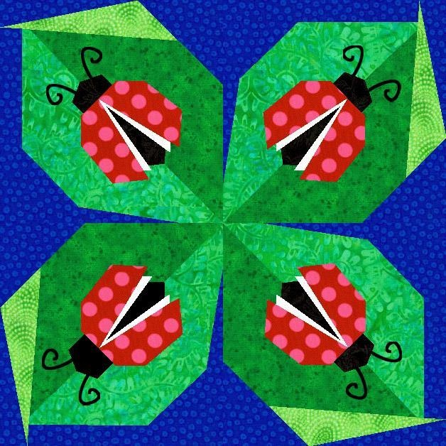 Ladybug Paper Pieced Quilt BlockQuilt Ideas, Paper Piece Quilt, Paperpiecing, Paper Piecing, Paper Pieced Quilts, Quilt Block Patterns, Quilt Blocks, Ladybugs Paper, Quilt Pattern