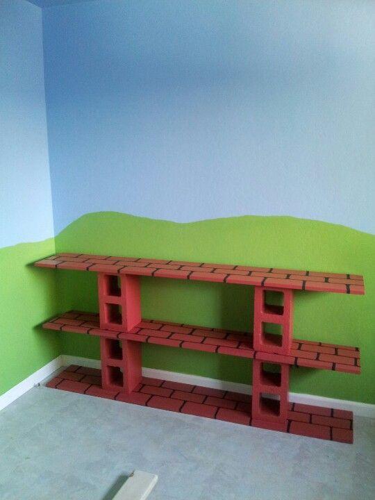Mario play shelf!