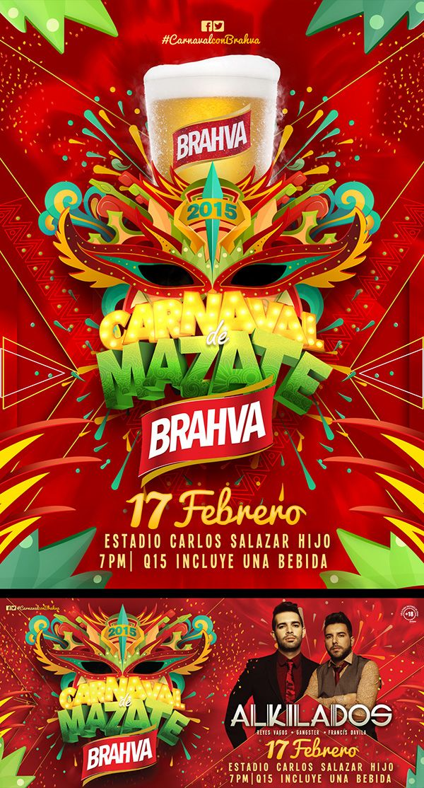 Carnaval de Mazate Brahva 2015 on Behance