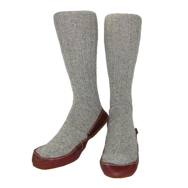 BeltOutlet.com - Acorn Men's Wool Sock Slippers