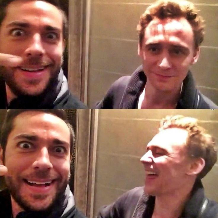 Zachary Levi fangirling over Tom Hiddleston