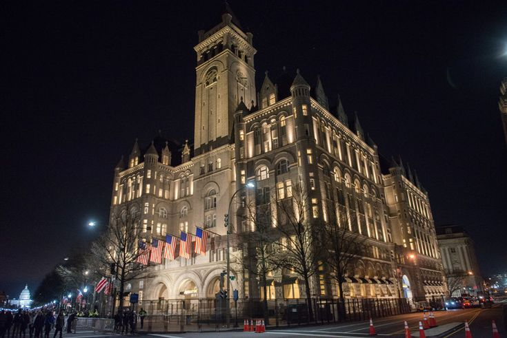 The D.C. Trump hotel made more money in 2017 than expected