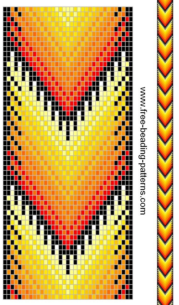 Bekannt 284 best bead loom pattern images on Pinterest | Loom beading  FD68
