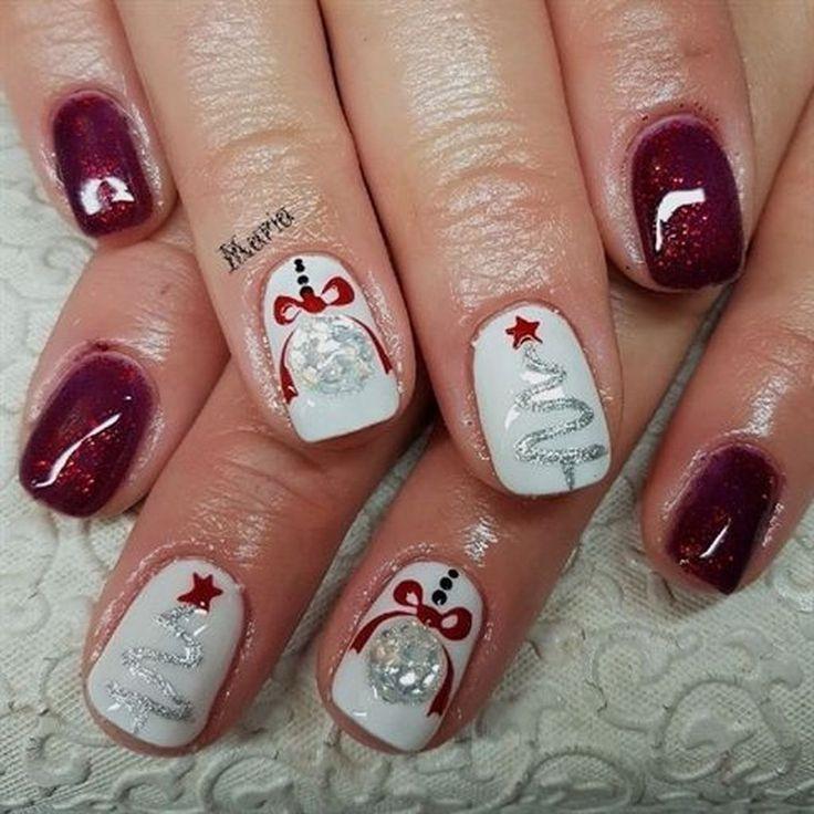 50 Modern Christmas Nails Ideas Christmas nails, Toe