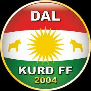 Dalkurd FF of Sweden crest.