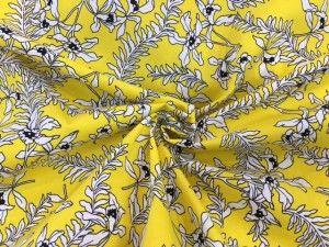 Tessuto cotone Yellow