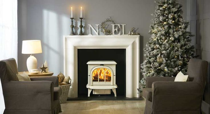 Dreaming of a White Christmas- this is stunning!  Stovax did it agian....