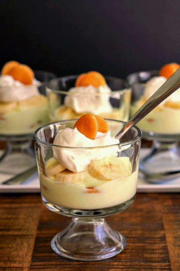 Mini Banana Cream Parfaits | The Chef Next Door