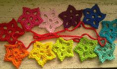little star crochet--in Dutch, but Google translate works well enough (make it interesting for sure!)