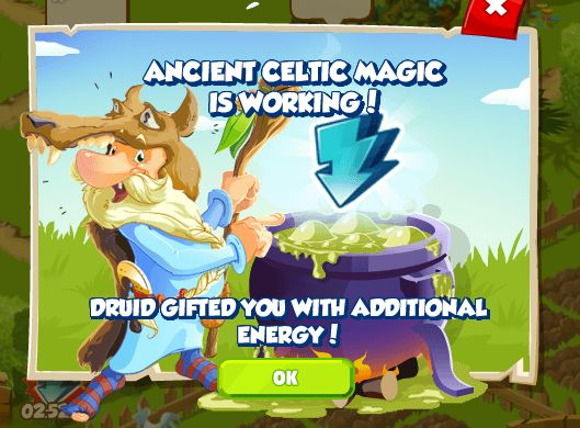 Get energy from the Druid http://wp.me/p2Wzyb-5K #happytale