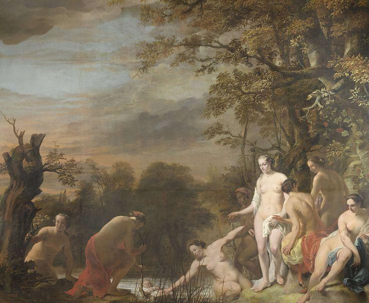Farao's dochter vindt Mozes in het biezen mandje, Ferdinand Bol, 1660 - 1663