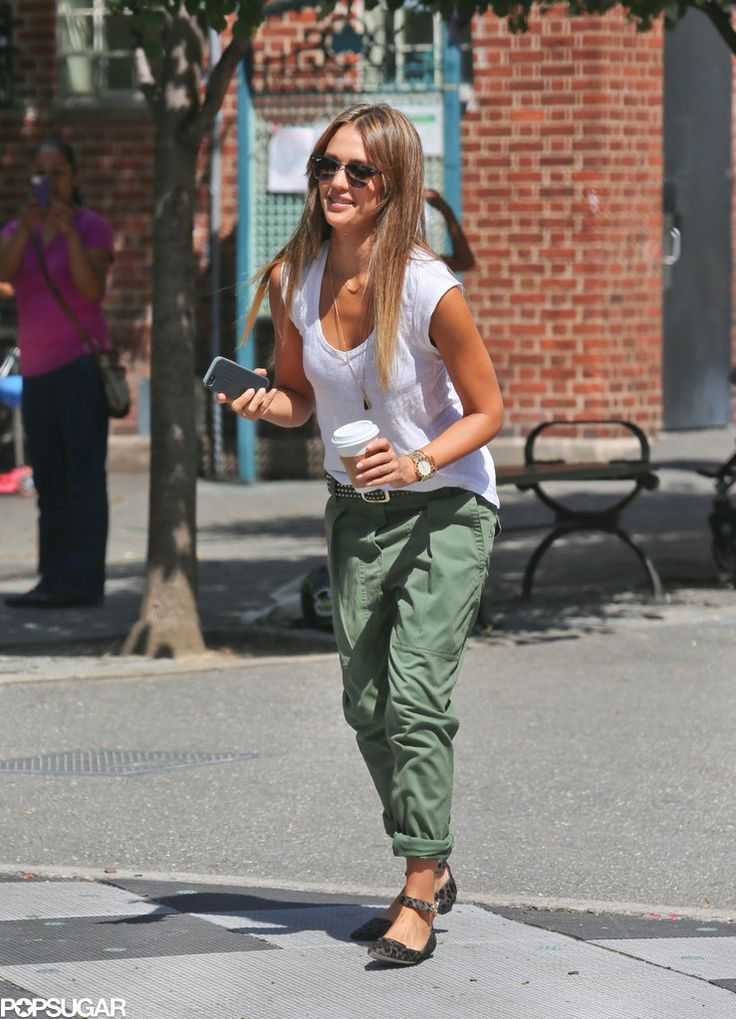 Jessica Alba LOVE LOV ELOVE this outfit