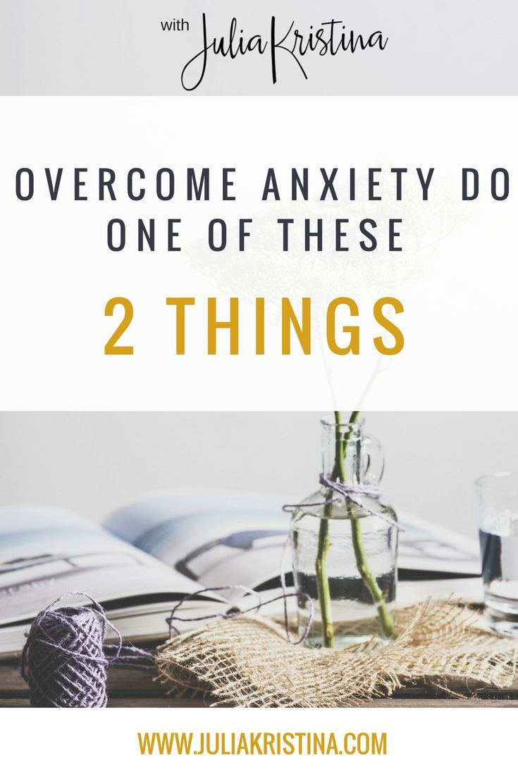 When talking about to the kind of anxiety that is rooted in our anxiety provoking thoughts, this type of anxiety comes about because of 2 things coming together - an Anxiety Equation. Click to watch the video now or Pin it for later!