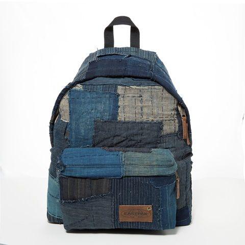 eastpak long john kuroki boro vintage special limited edition 2016 bag rugzak blue indigo patched patches east pak selvedge selvage  (14)