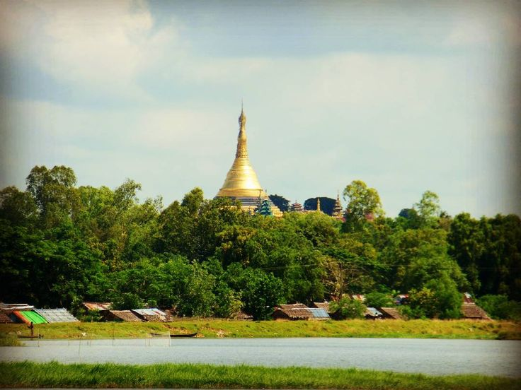 Kyaik Khauk pagoda in Than Lyin across from Rangoon River. This ancient Mon pagoda has connections all the way back to when legend tells us that the teachings of the enlightened one first reached the Golden Land. This peaceful rural pagoda is included on many Myanmar Pilgrimage dhamma tours.  #thanlyin #kyaikkhaukpagoda #kyeikkhout #enlightenedone #rural #mon #monpagoda #monhistory #rangoonriver #goldenland #goldenlandmyanmar #goldenlandproperty #goldenlandresidence #goldenlandscape…