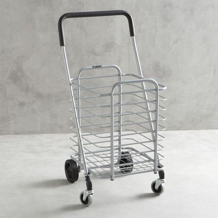 Polder Folding Shopping Cart - Great for transporting everything for Diner en Blanc #DinerEnBlancCHI