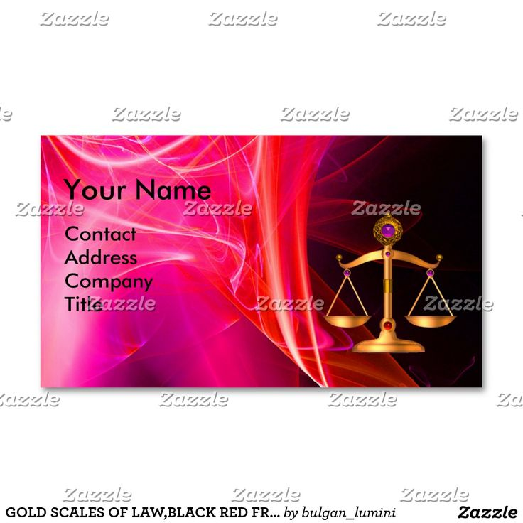 GOLD SCALES OF LAW,BLACK RED FRACTAL ROSE MONOGRAM BUSINESS CARD #attorney #lawyer #paralegal #justice #lawfirm #law