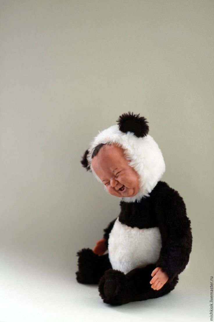 Купить тедди долл Пандик...))) - тедди, тедди долл, тедди-долл панда, панда