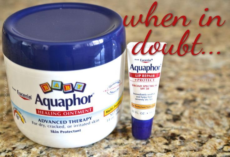 there are so many uses for aquaphor ointment!