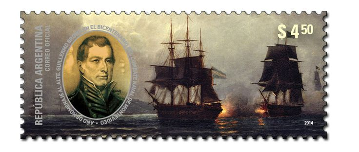 Bicentenary of Naval Battle of Montevideo - Guillermo Brown