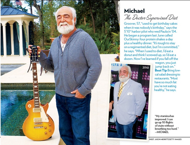 featured in @People magazine for his incredible 60 lbs weight loss ...