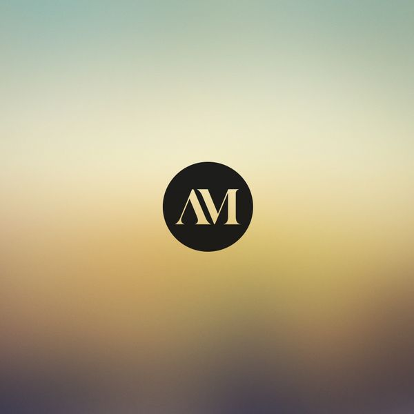 Monogram for A. Miclovic | Love love love logos like this!