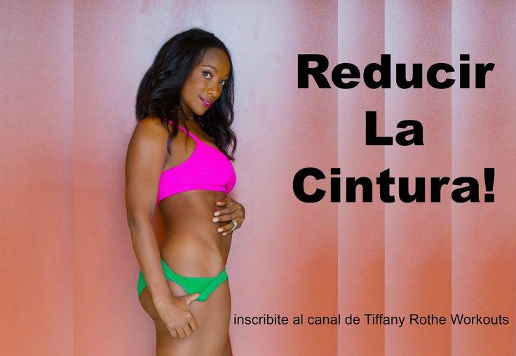 Rutina de 10 minutos para tónificar y adelgazar la cintura! | TiffanyRot...