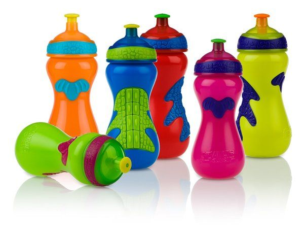 Nuby Sippy Cup Pop Up Sipper Gator Grip 15oz Age 2yrs+ Model 1270 Choose Color