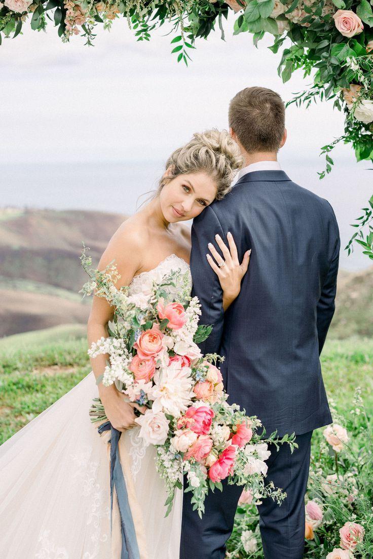 Malibu Wedding With Ocean Views Our Story Creative Wedding Portrait Poses Malibu Rocky Oaks Wedding Wedding Photography Styles