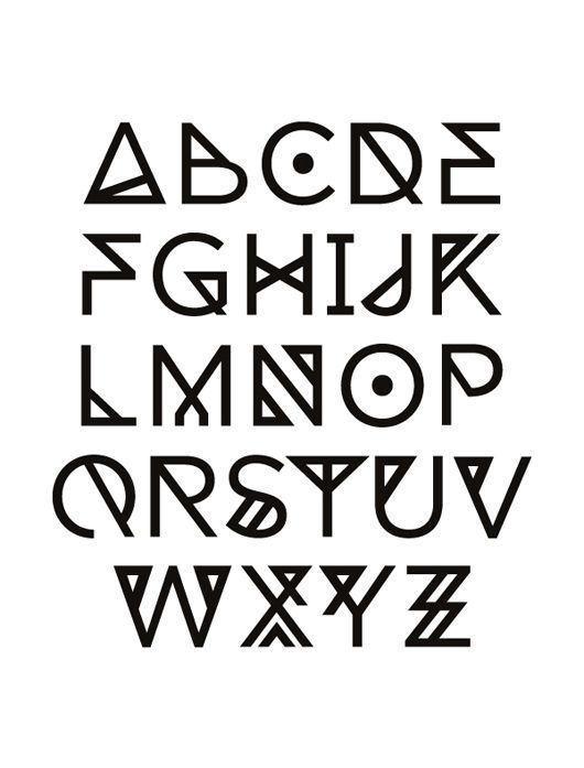 cool fonts alphabet - Buscar con Google