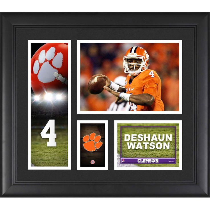 "Deshaun Watson Clemson Tigers Fanatics Authentic Framed 15"" x 17"" Player Collage"