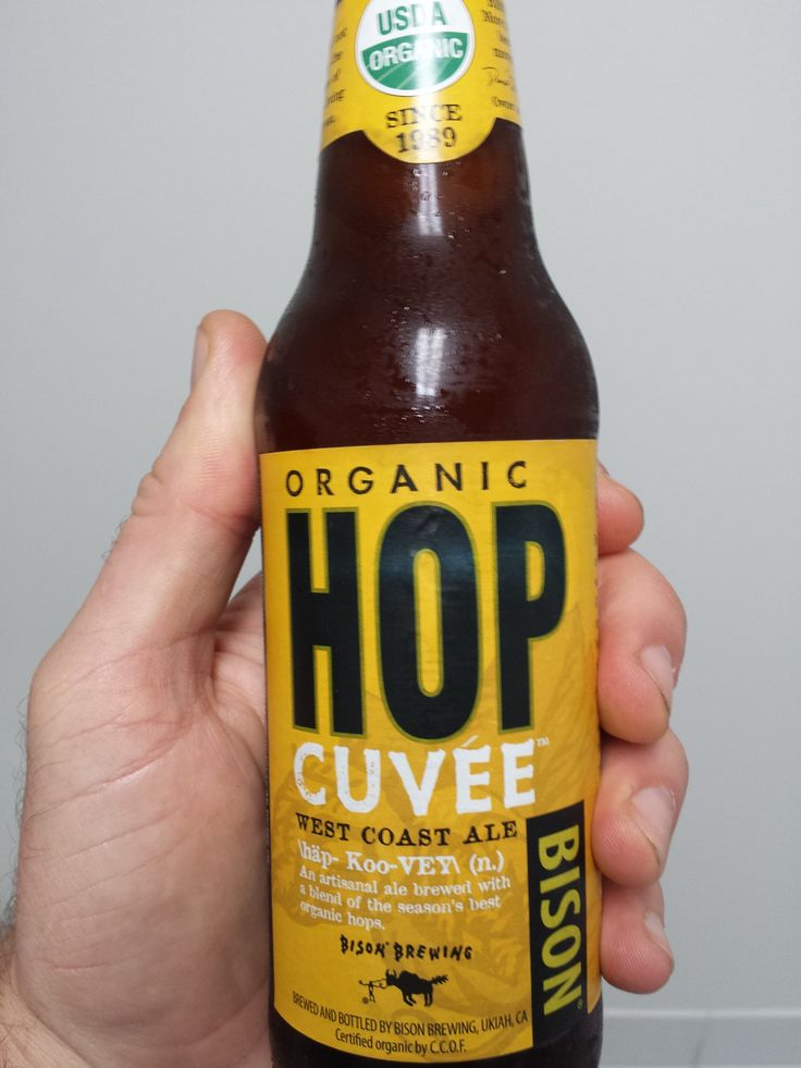 Bison Brewing Organic Hop Cuvee West Coast Ale (Berkeley, California, USA)