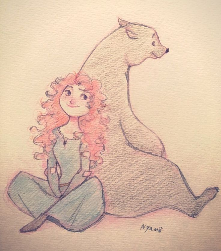 2015/12/15 #brave #merida #disney #sketch #drawing #fanart #メリダ